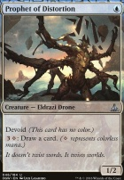 Oath of the Gatewatch Foil: Prophet of Distortion
