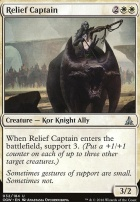Oath of the Gatewatch Foil: Relief Captain