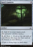 Oath of the Gatewatch Foil: Seer's Lantern