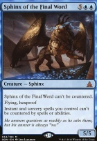 Oath of the Gatewatch: Sphinx of the Final Word
