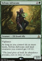 Oath of the Gatewatch Foil: Sylvan Advocate