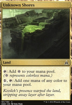 Oath of the Gatewatch Foil: Unknown Shores