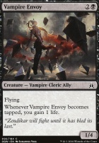 Oath of the Gatewatch Foil: Vampire Envoy