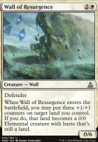 Oath of the Gatewatch Foil: Wall of Resurgence