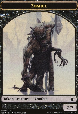 Oath of the Gatewatch: Zombie Token