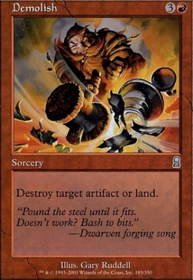 Odyssey Foil: Demolish