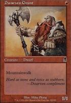 Odyssey: Dwarven Grunt