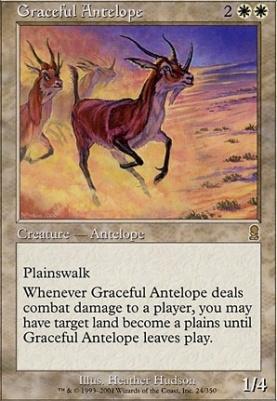 Odyssey Foil: Graceful Antelope