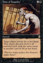 Odyssey Foil: Hint of Insanity