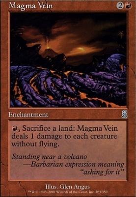 Odyssey Foil: Magma Vein