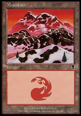 Odyssey Foil: Mountain (344 B)