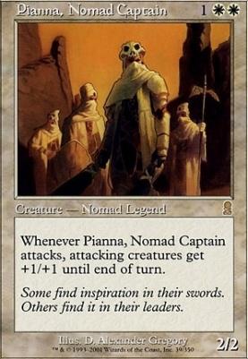Odyssey: Pianna, Nomad Captain