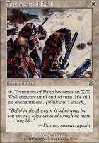 Odyssey Foil: Testament of Faith