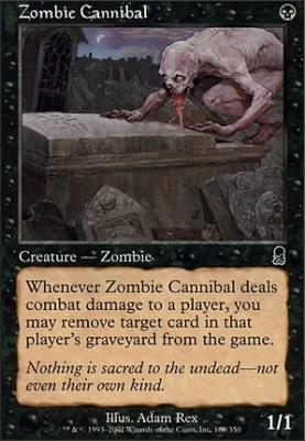 Odyssey Foil: Zombie Cannibal