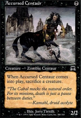 Onslaught: Accursed Centaur