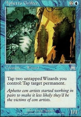 Onslaught Foil: Aphetto Grifter