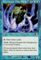 Onslaught Foil: Arcanis the Omnipotent