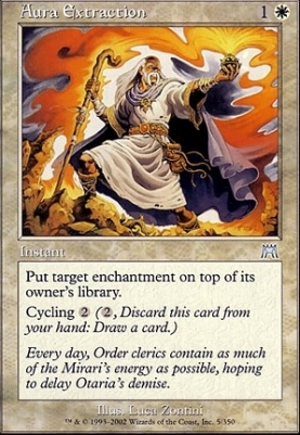 Onslaught Foil: Aura Extraction