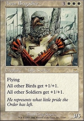 Onslaught: Aven Brigadier