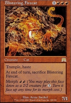 Onslaught: Blistering Firecat