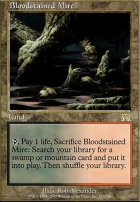Onslaught Foil: Bloodstained Mire