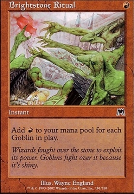 Onslaught: Brightstone Ritual