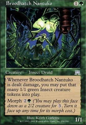 Onslaught Foil: Broodhatch Nantuko