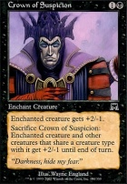Onslaught Foil: Crown of Suspicion