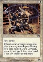 Onslaught Foil: Daru Cavalier