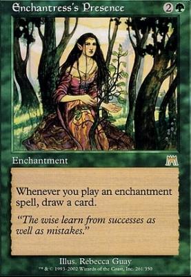 Onslaught Foil: Enchantress's Presence