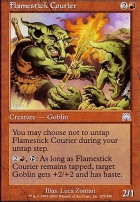 Onslaught Foil: Flamestick Courier
