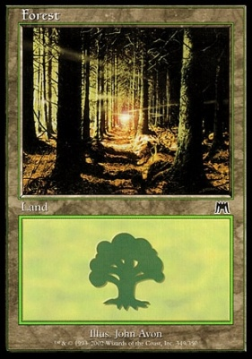Onslaught: Forest (349 C)