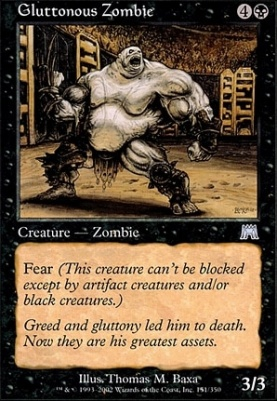 Onslaught: Gluttonous Zombie