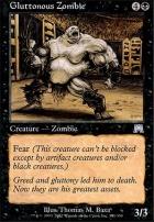 Onslaught Foil: Gluttonous Zombie