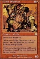 Onslaught Foil: Goblin Piledriver