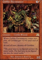 Onslaught: Goblin Pyromancer