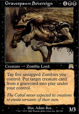 Onslaught: Gravespawn Sovereign