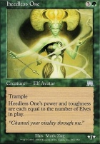Onslaught Foil: Heedless One