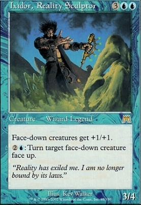 Onslaught Foil: Ixidor, Reality Sculptor