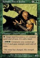 Onslaught Foil: Kamahl, Fist of Krosa