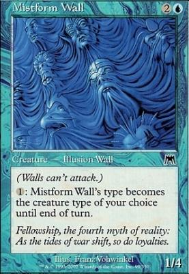 Onslaught Foil: Mistform Wall