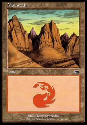 Onslaught: Mountain (343 A)