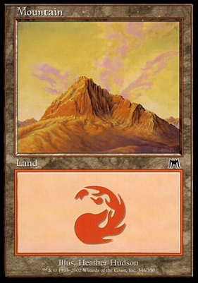 Onslaught: Mountain (346 D)