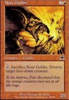 Onslaught Foil: Nosy Goblin
