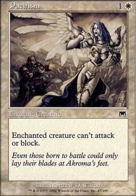 Onslaught Foil: Pacifism