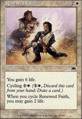 Onslaught Foil: Renewed Faith