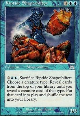 Onslaught Foil: Riptide Shapeshifter