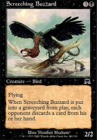 Onslaught Foil: Screeching Buzzard