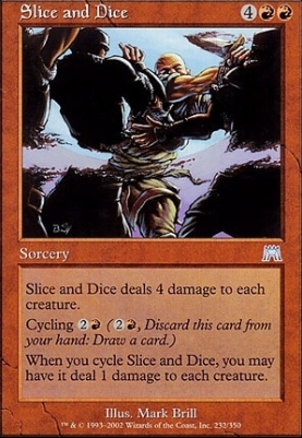 Onslaught: Slice and Dice