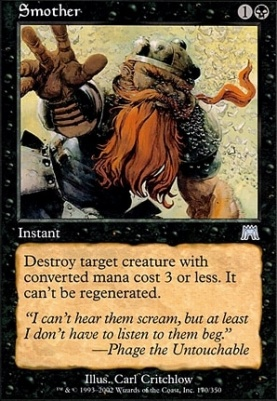 Onslaught Foil: Smother